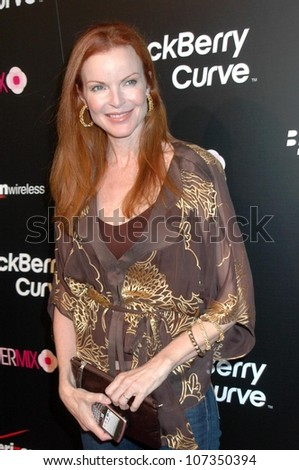 Marcia Cross  at the Launch Party for the Blackberry 8330 Pink Curve Exclusively from Verizon Wireless. Intermix, Los Angeles, CA. 08-27-08