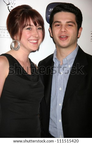 Marcy Kelly and Samm Levine at the Academy of Television Arts and Sciences celebration of the 10th Anniversary of the Archive of American Television. Crustacean, Beverly Hills, CA. 06-04-07