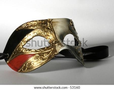 mardi-gras mask - stock photo