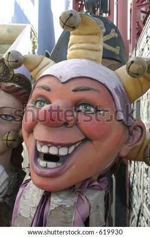 Mardi Gras mask - stock photo