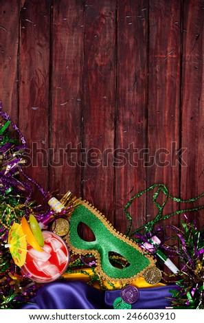 stock photo: mardi gras background