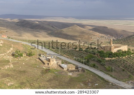 Mardin located in southeasthern of Turkey. The capital of Mardin Province is known as the Artuqid. The old city in the mountain.