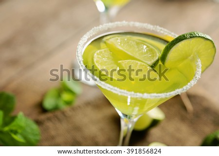 Margarita drink - stock photo
