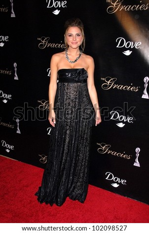 Maria Menounos  at the 35th Annual Gracie Awards Gala, Beverly Hilton, Beverly Hills, CA. 05-25-10