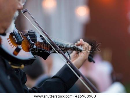 Mariachi Violin Player