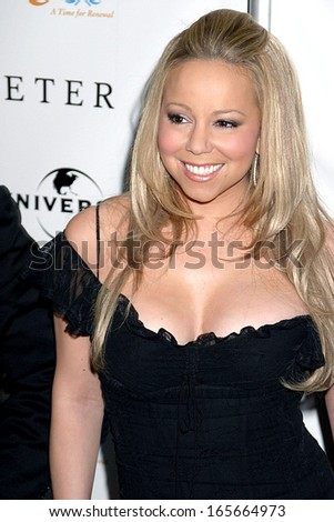 Mariah Carey at The Interpreter Premiere Tribeca Film Festival Opening Night, The Ziegfeld Theatre, New York, NY, April 19, 2005