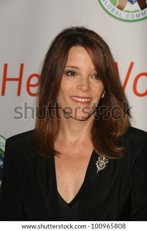 Marianne Williamson at the 2010 BraveHeart Awards, Hyatt Regency Century Plaza Hotel, Century City, CA.  10-09-10