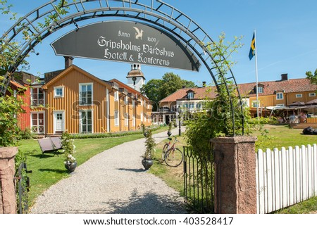 Sodermanland stock images royalty free images vectors for Small historic hotels