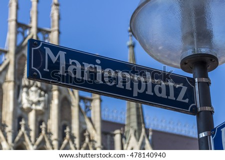 Marienplatz also called Mary's Square is one of the most vital places in Munich with the new city hall and numerous cafes and shops
