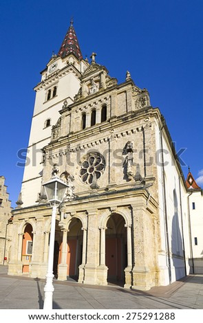 marija bistrica cathedral  - stock photo
