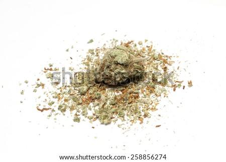 Marijuana  - stock photo