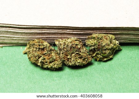 Marijuana and Cannabis - stock photo