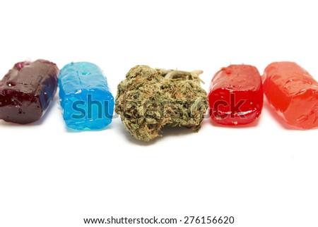 Marijuana Candy  - stock photo