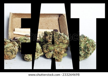 Marijuana Edibles, Eat  - stock photo