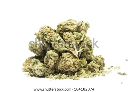 Marijuana Weed Pot and Cannabis  - stock photo