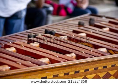Marimba  - stock photo