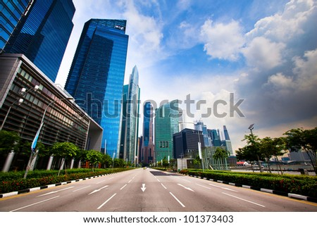 Marina Bay - Singapore business district