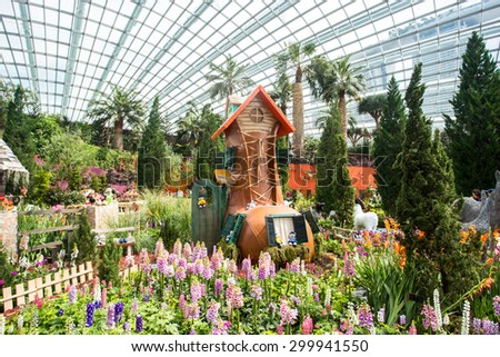 Garden By The Bay Flower botanic flower garden singapore stock images, royalty-free images