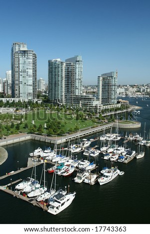 Marina With Waterfront Condominiums