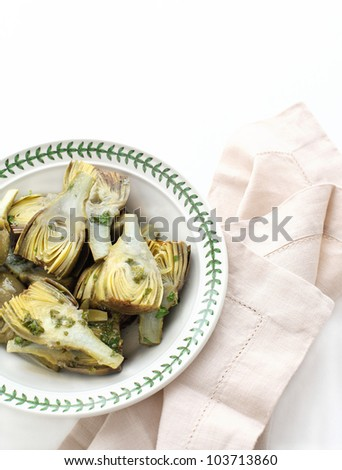 Marinated Baby Artichokes