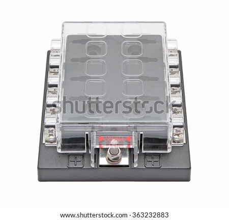 box fuse detail stock photos royalty images vectors marine fuse box for ten wires isolated on white