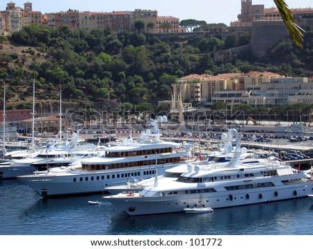 marine Monaco - stock photo