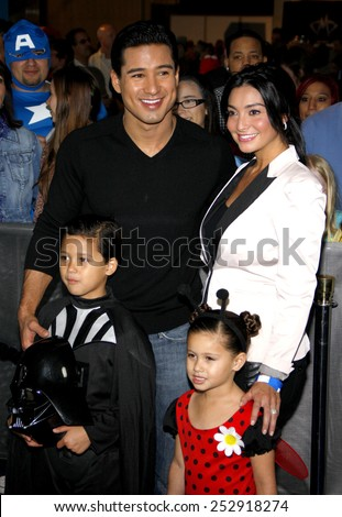 """Mario Lopez at the Los Angeles Premiere of """"Megamind"""" held at the Hollywood and Highland in Hollywood, California, United States on October 30, 2010.  - stock photo"""