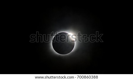 Marion, Illinois on August 21st 2017. The great American total Solar eclipse