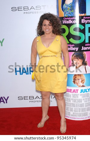 "Marissa Jaret Winokur at the Los Angeles premiere of ""Hairspray"" at the Mann Village Theatre, Westwood. July 11, 2007  Los Angeles, CA Picture: Paul Smith / Featureflash"