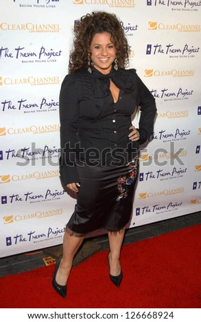"Marissa Jaret Winokur at The Trevor Project's ""Cracked Xmas 9"" Benefit. The Wiltern LG, Los Angeles, California. December 3, 2006."