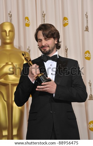 Mark Boal at the 82nd Academy Awards at the Kodak Theatre, Hollywood. March 7, 2010  Los Angeles, CA Picture: Paul Smith / Featureflash