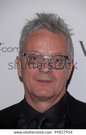 "Mark Mothersbaugh at the 2011 Art Of Elysium ""Heaven"" Gala, Annenberg Bldg., California Science Center, Los Angeles, CA. 01-15-11 - stock photo"