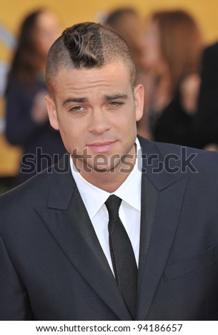 Mark Salling at the 17th Annual Screen Actors Guild Awards at the Shrine Auditorium, Los Angeles. January 29, 2012  Los Angeles, CA Picture: Paul Smith / Featureflash