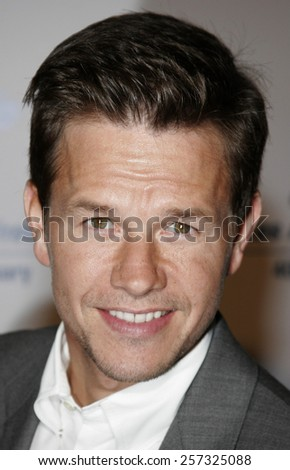 Mark Wahlberg at the Los Angeles Free Clinic Annual Dinner Gala Honoring Paramount Pictures held at the Beverly Hilton Hotel in Beverly Hills on November 20, 2006.