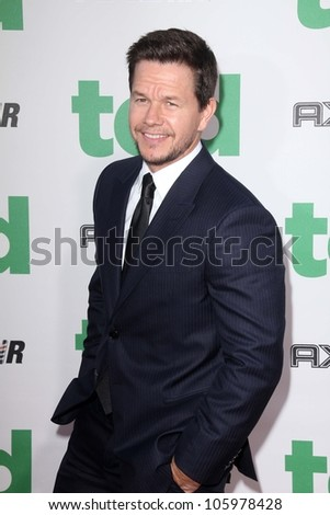"""Mark Wahlberg at the """"Ted"""" World Premiere, Chinese Theater, Hollywood, CA 06-21-12 - stock photo"""