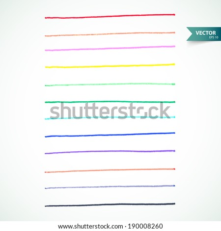Markers set - stock photo