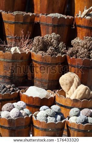 market in Egypt - stock photo
