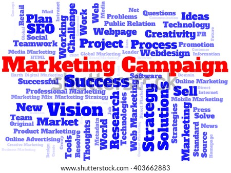 Marketing Campaign Stock Images RoyaltyFree Images  Vectors