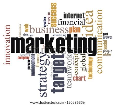 marketing infotext graphics arrangement concept on stock