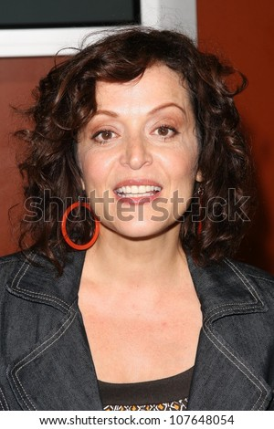 Marlene Forte  at the party to celebrate the 100th Episode of 'Dog Whisperer'. Boulevard 3, Hollywood, CA. 09-17-08 - stock photo