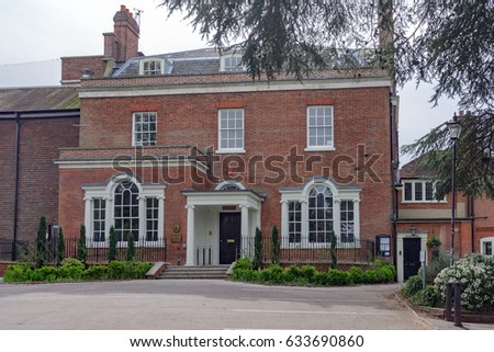 Marlow UK 30th April 2017 Court Garden House Is A Wedding Venue Facility