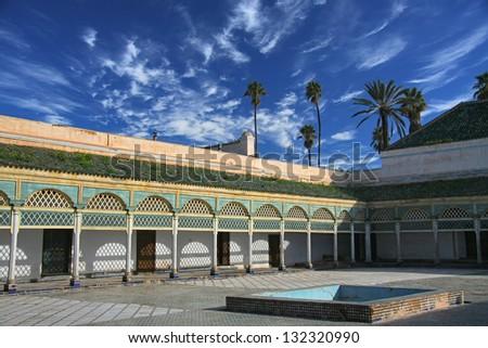 Marrakech medina - stock photo