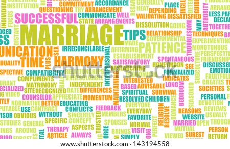 Marriage Advice and Tips of a Successful One - stock photo