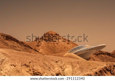 mars - stock photo