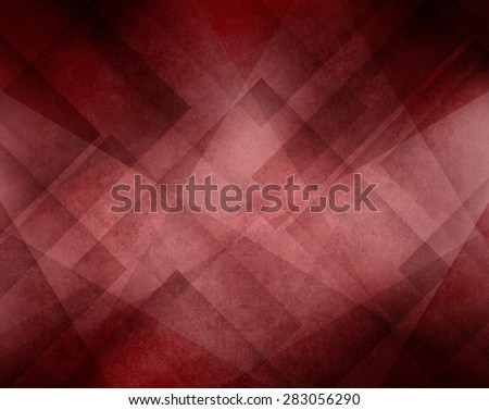 marsala wine color background with abstract geometric triangle line design - stock photo
