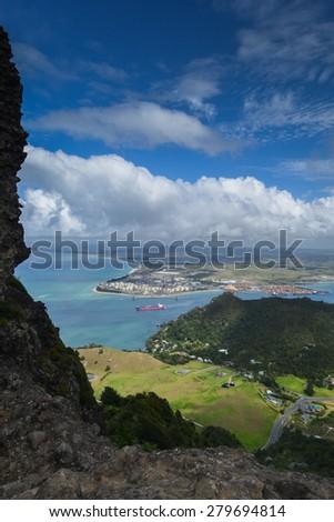 Marsden Point, North Island, New Zealand - stock photo