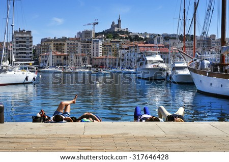 ships in the fishing port terminal royalty free stock