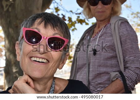 Marseille, France - October 06, 2016 : French cartoonist Trax at the 5th edition of the International festival of press and political cartoons at l'Estaque.