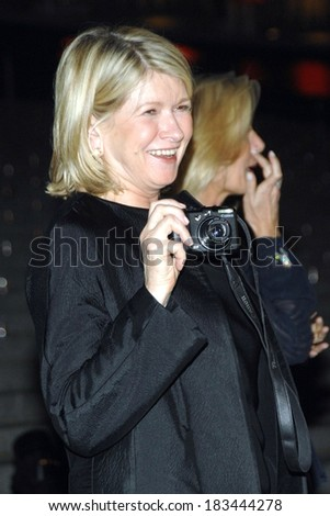 Martha Stewart at Tribeca Film Festival Vanity Fair Party, New York Supreme Court House, New York, NY, April 22, 2008