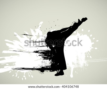 Martial art  - stock photo